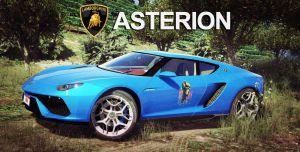 Lamborghini Asterion 2015 необычная ламбо для гта 5