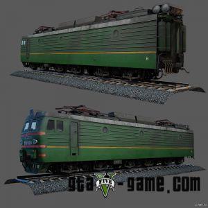 Russian Freight Train - русский поезд в гта 5