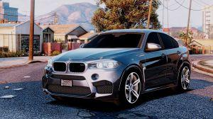 BMW X6M F16 - внедорожник бмв икс 6 для гта 5