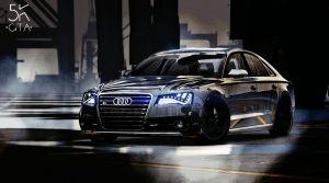 2013 Audi S8 - ауди S8 кватро для гта 5