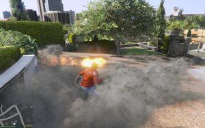Лазерное зрение оружие супермена для гта 5