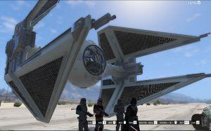 Tie Interceptor - перехватчик из звездных воин