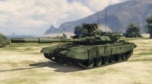 Русский танк T90А для гта 5