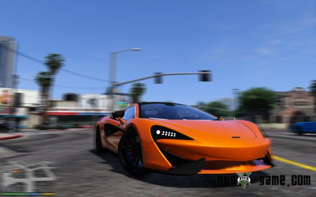 McLaren 570s - макларен для Gta 5