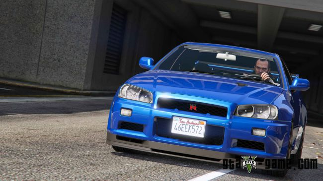 Nissan Skyline GT-R - ниссан скайлайн для гта 5