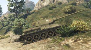 Soviet T-34 - советский Т34 танк времен ВОВ