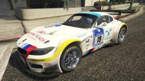 BMW Z4 GT3 - спортивное купе бмв