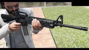 M16A2 Rifle - известная автоматическая винтовка