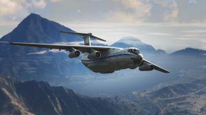 IL-76M - ИЛ76 военно транспортный самолет
