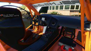Audi R8 LMS Ultra - спортивная крутая Ауди