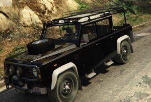 Land Rover Defender - лендровер дефендер, пикап