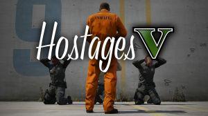 HostagesV - арест, приказы, заложник из жителя