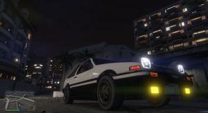 Toyota AE86 Sprinter праворульная тойота для гта 5
