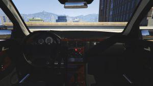 Mercedes-Benz E420 - бандитский глазастый мерседес