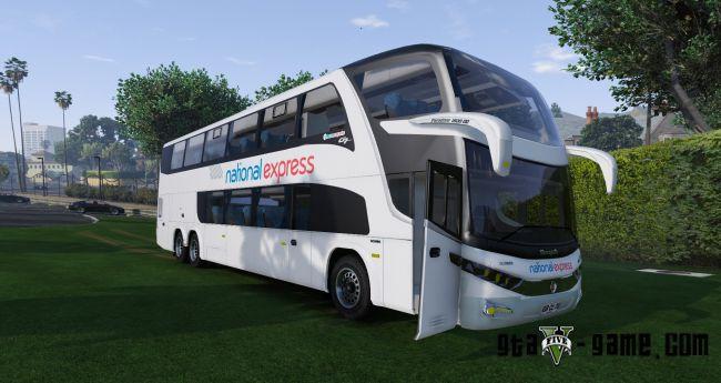 National Express Coach - красивый автобус в 4K