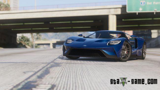 2017 Ford GT - крутой форд GT для гта 5