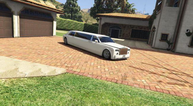 Rolls Royce Phantom Limo - лимузин роллс ройс