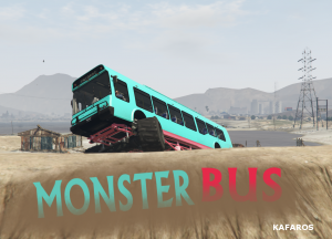 Monster Bus - автобус монстр