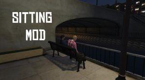 Sitting Mod - садиться на лавку\ скамейку в гта 5