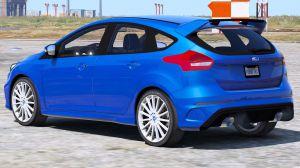 Ford Focus RS - спортивный форд фокус