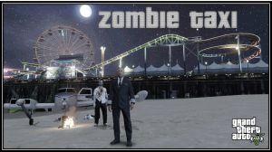 Zombie Taxi - миссии самолетного такси защитника для гта 5