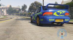 Subaru Impreza WRC 1998 - старая раллийная субару импреза