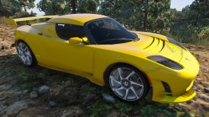 Tesla Roadster Sport - тесла родстер спорт для гта 5