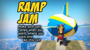 Ramp Jam - мод на рампы\ трамплины для прыжков