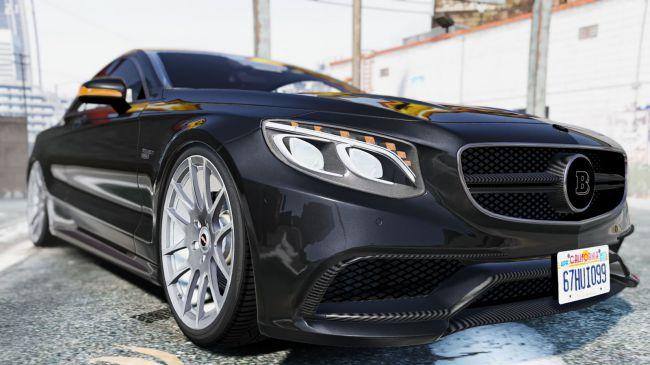 Mercedes-Benz Brabus 850 - прокачанный Мерседес Брабус