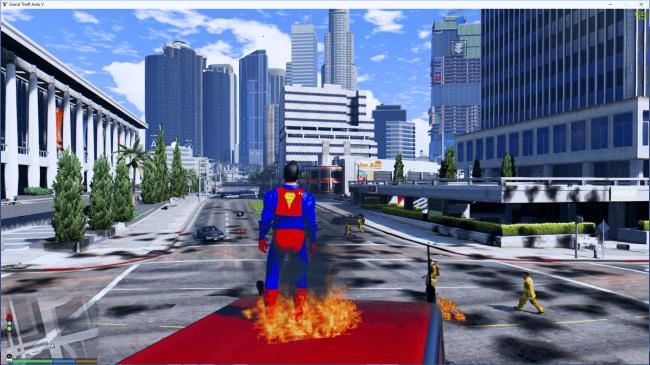 скачать мод на супермена