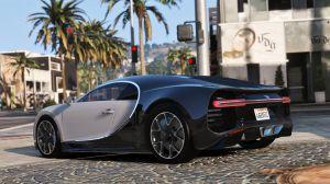 Bugatti Chiron - бугатти чирон для гта 5