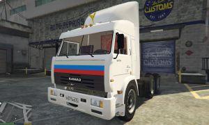 Kamaz 54115 - русская фура - камаз для гта 5