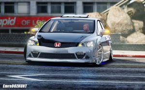 Honda FD6 - хонда сивик в тюнинге от Mugen