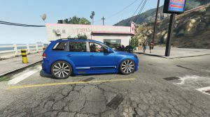 Volkswagen Touareg - фольксваген тоурег для гта 5