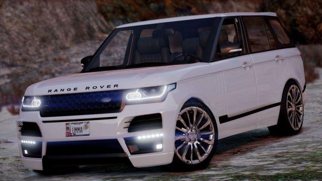 Land Rover Range Rover Startech - внедорожник Лендровер