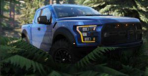 2017 Ford Raptor - пикап форд раптор