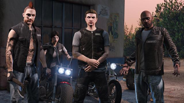 «Байкеры» - новое обновление для GTA Online