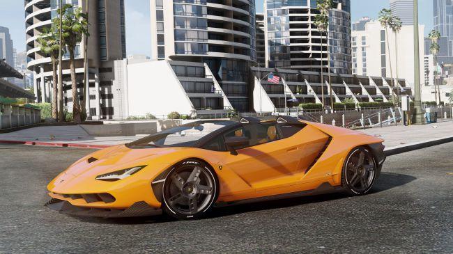 Lamborghini Centenario LP 770-4 Roadster