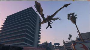 Dragons V - драконы в гта 5