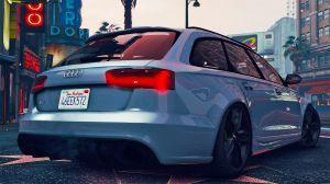 Audi RS6 C7 Avant - ауди универсал для гта 5