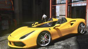Ferrari 488 Speedster Concept - КОНЦЕПТ ФЕРРАРИ КАБРИОЛЕТ