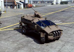 Punisher 4x4 MRAP - военный автомобиль каратель