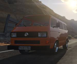 Volkswagen Caravelle T3 - фольксваген каравелла - хиппи