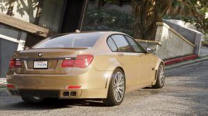 BMW Lumma CLR 750 - бмв премиум класса