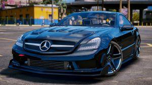 Mercedes-Benz SL 63 AMG - мерседес с кучей тюнинга