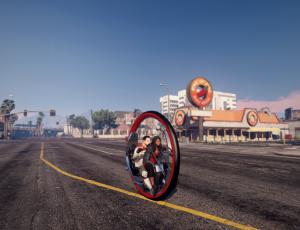 Monowheel - моноцикл для гта 5