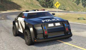 Zootopia ZPD Cruiser - полицейская машина из Зверополиса