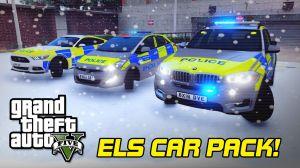 UK/MET Police Car Pack пак полицейских машин