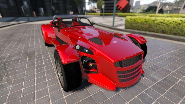 Donkervoort D8 GTO крутой кабриолет