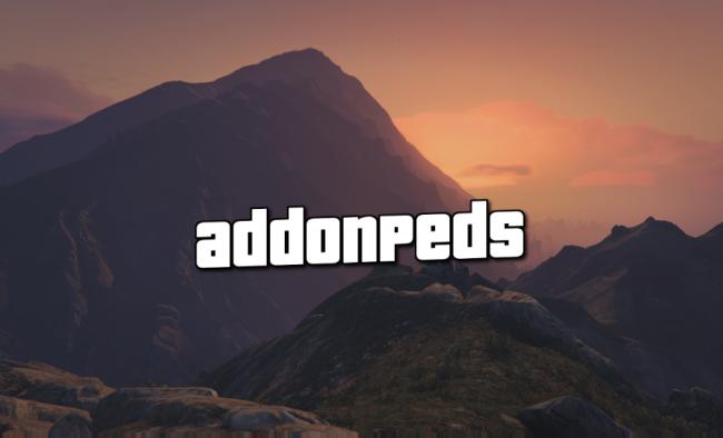 AddonPeds - добавляем модели людей в игру